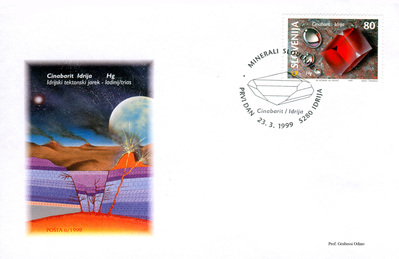Cinnabar - Slovenia - 1999 - First Day Cover -- 29/04/09