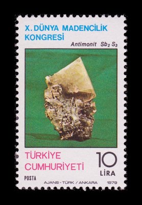 Antimonite - Turkey - 1979 -- 05/05/09