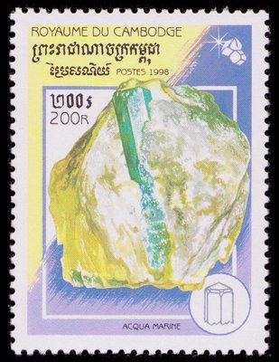 Aquamarine - Cambodge - 1998 -- 01/05/09