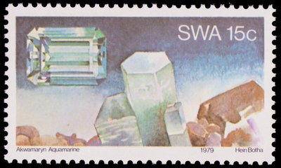 Aquamarine - South West Africa - 1979 -- 12/10/08