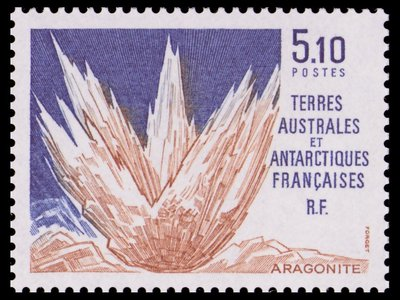 Aragonite - French Southern and Antarctic Lands - 1990 -- 26/10/08