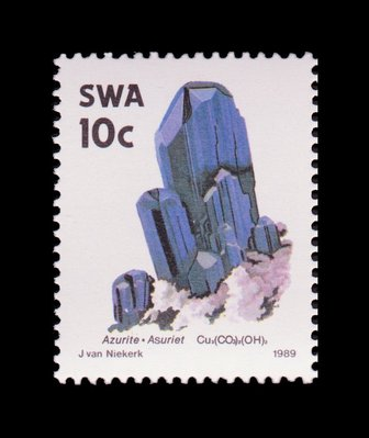Azurite - South West Africa - 1989 -- 03/02/09