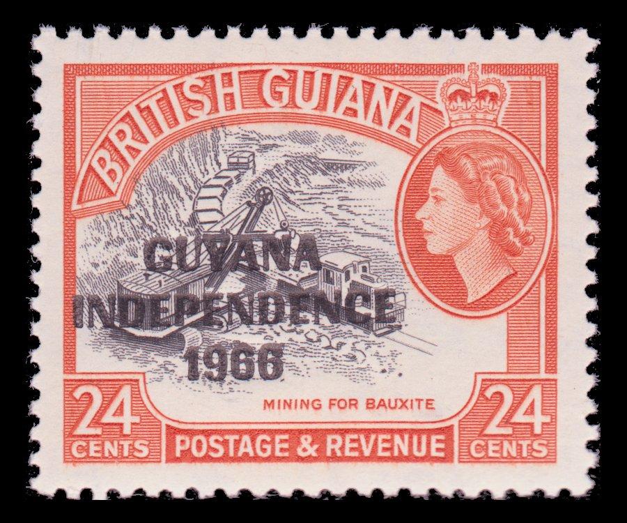 Bauxite Mining - Guyana - 1966