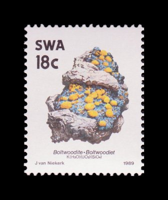 Boltwoodite - South West Africa - 1989 -- 03/02/09