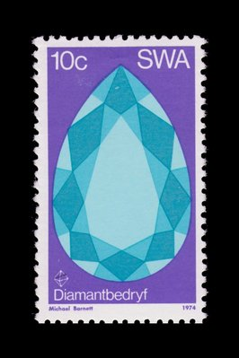 Diamond Faceting - South West Africa - 1974 -- 12/10/08