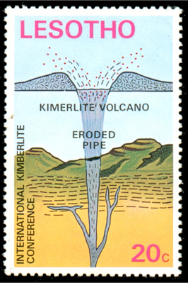 Diamond Kimberlite Volcano