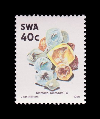 Diamonds - South West Africa - 1989 -- 03/02/09