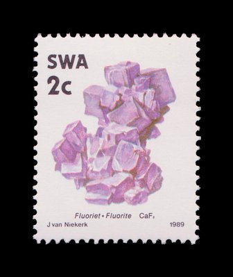 Fluorite - South West Africa - 1989 -- 03/02/09