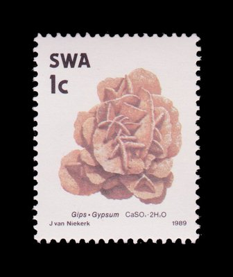 Gypsum - South West Africa - 1989 -- 03/02/09