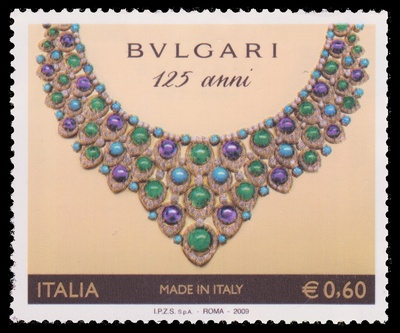 Amethysts, Turquoises, Emeralds, Diamonds (Bulgari) - Italy - 2009 -- 18/05/09