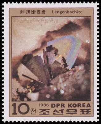 Lengenbachite - North Korea - 1986 -- 16/04/09