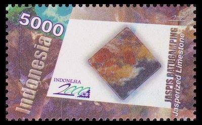 Jasperized Limestone - Indonesia - 2000 -- 02/02/09