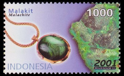 Malachite - Indonesia - 2001 -- 08/02/09