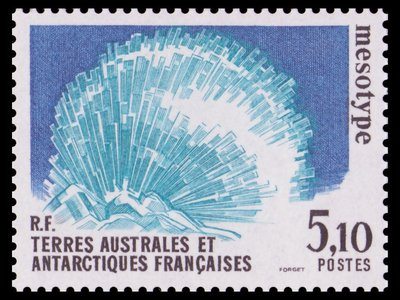 Mesolite - French Southern and Antarctic Lands - 1989 -- 26/10/08