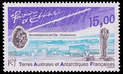 Meteorite - French Southern and Antarctic Lands - 1996 -- 24/10/08