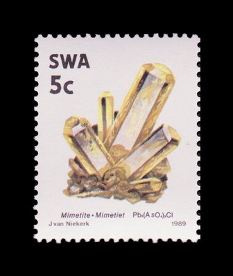 Mimetite - South West Africa - 1989 -- 03/02/09