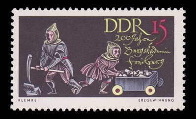 East German Stamps-DDR
