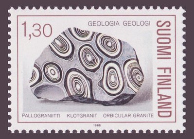 Orbicular Granite - Finland - 1986 -- 27/09/08