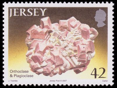Orthoclase and Plagioclase - Jersey - 2007 -- 11/11/08