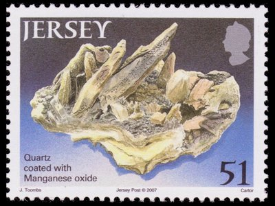 Quartz and Manganese oxide - Jersey - 2007 -- 11/11/08