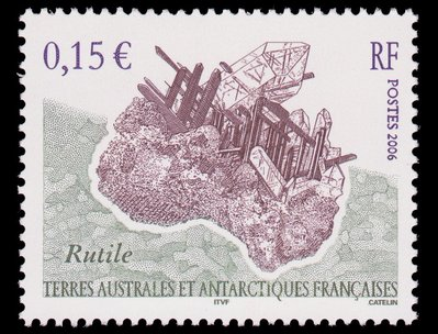 Rutile - French Southern and Antarctic Lands -  -- 26/03/09