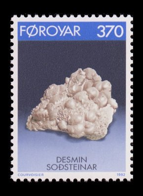 Stilbite - Faroe Islands - 1992 -- 25/10/08