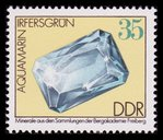 Aquamarine Gem - East Germany - 1974 -- 24/02/09