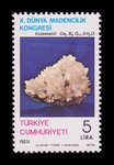 Colemanite - Turkey - 1979 -- 05/05/09