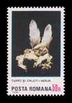 Quartz and Calcite - Romania - 1985 -- 07/02/09