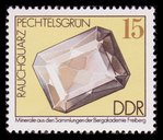 Smoky Quartz Gem - East Germany - 1974 -- 24/02/09