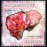 Vanadinite and Poldervaartite - Mozambique - 2007 -- 03/05/09