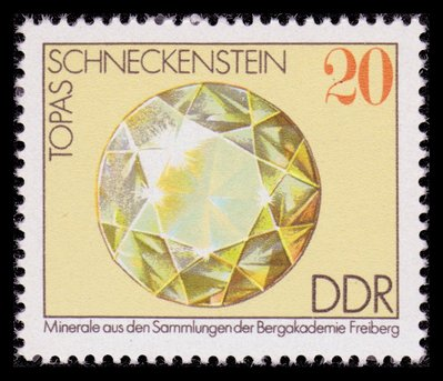Topaz Gem - East Germany - 1974 -- 24/02/09