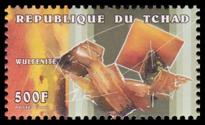 Wulfenite - Chad - 1998 -- 25/10/08