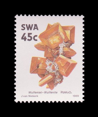 Wulfenite - South West Africa - 1989 -- 03/02/09