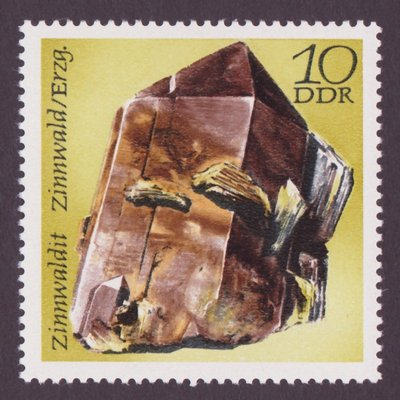 Zinnwaldite - East Germany - 1972 -- 26/09/08